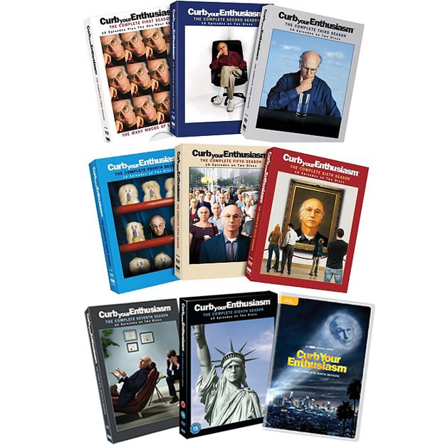 Curb Your Enthusiasm Season 1-9 DVD Pack