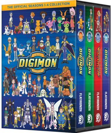 Digimon Seasons 1-4 DVD