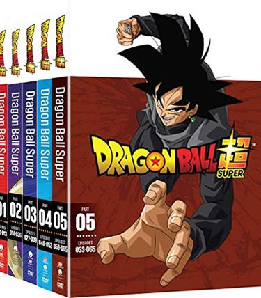 Dragon Ball Super Season 1-5 DVD Pack