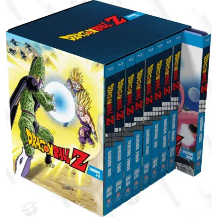 Dragon Ball Z: Seasons 1-9 Collection Blu-ray Blu-ray