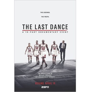 ESPN: The Last Dance Documentary DVD