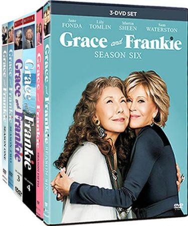 Grace And Frankie Season 1-6 DVD Pack