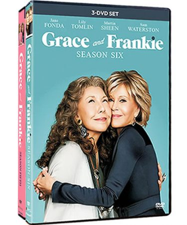 Grace And Frankie Season 5-6 DVD Pack