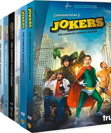 Impractical Jokers Season 1-7 DVD Pack