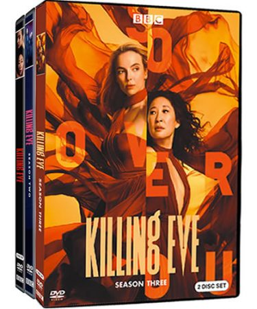 Killing Eve Season 1-3 DVD Pack