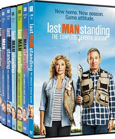 Last Man Standing Season 1-7 DVD Pack