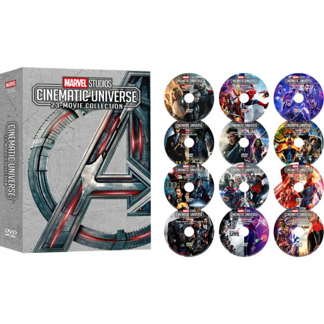 Marvel Studios Cinematic Universe 23-Movie Collection DVD