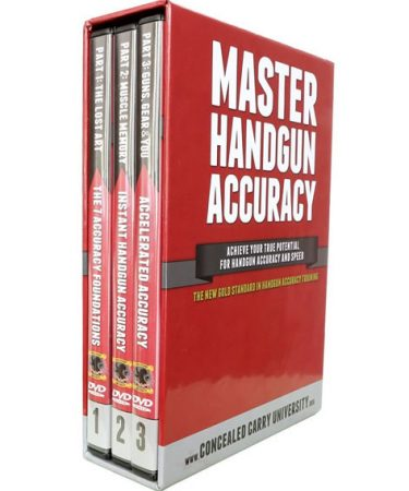 Master Handgun Accuracy DVD