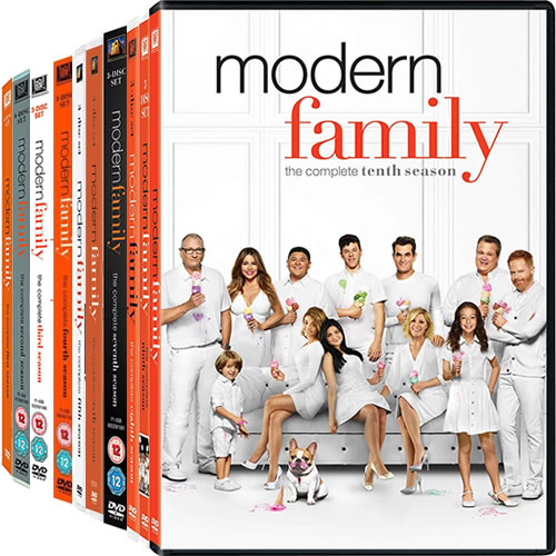Modern Family Season 1-10 DVD Pack