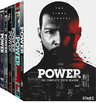 Power Season 1-6 DVD Pack