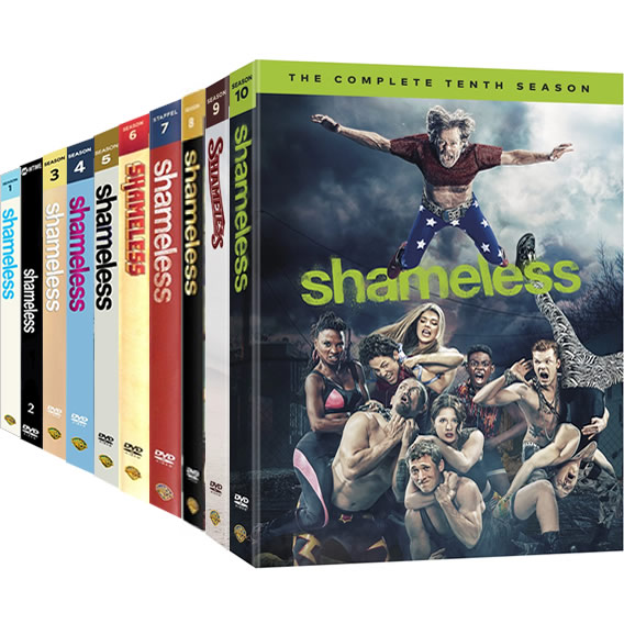 Shameless Season 1-10 DVD Pack