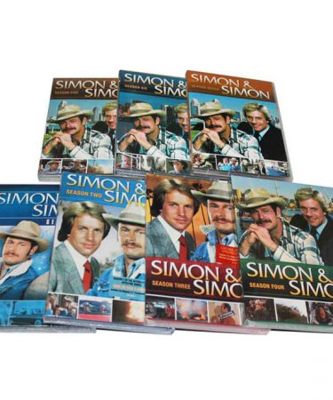 Simon & Simon Season 1-7 DVD Pack
