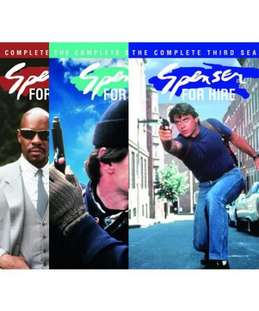Spenser for Hire Season 1-3 DVD Pack