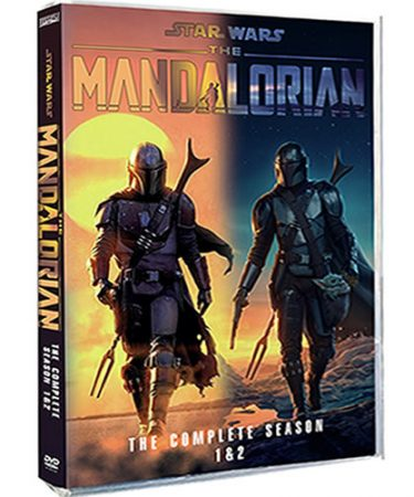Star Wars: The Mandalorian Season 1-2 DVD Pack