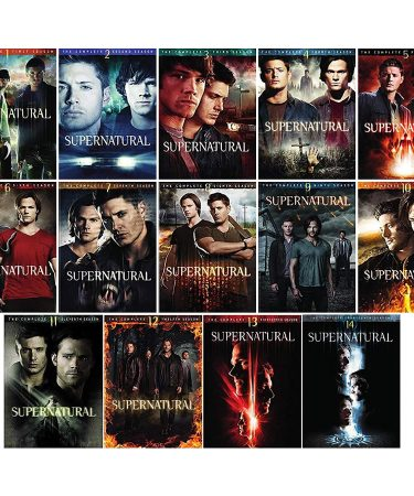 Supernatural Season 1-14 DVD Pack