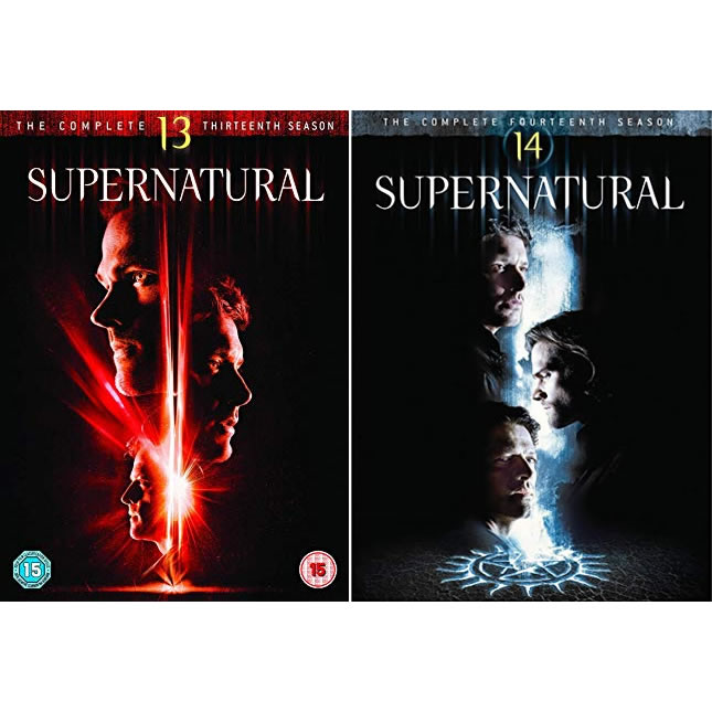 Supernatural Season 13-14 DVD Pack