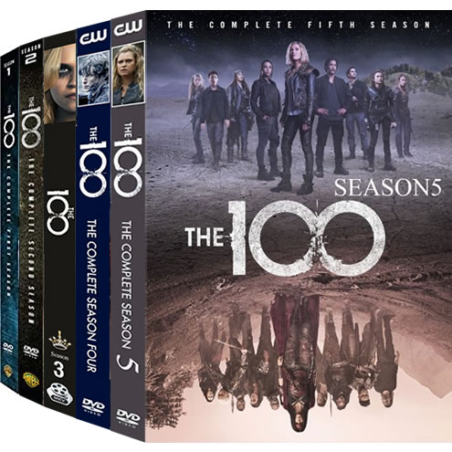 The 100 Season 1-5 DVD Pack