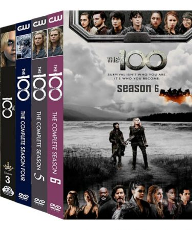 The 100 Season 1-6 DVD Pack