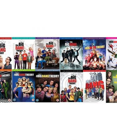 The Big Bang Theory Season 1-12 DVD Pack