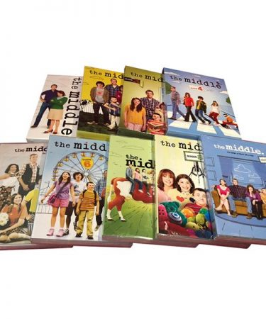 The Middle Season 1-9 DVD Pack