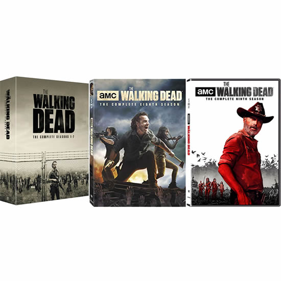 The Walking Dead Season 1-9 DVD Pack