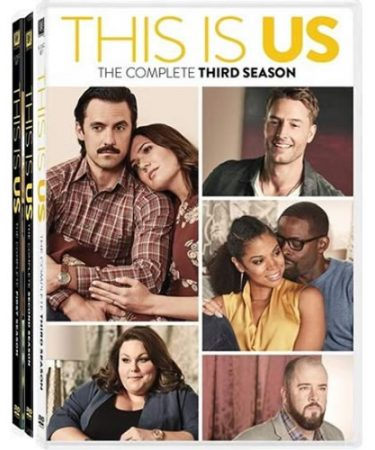This is Us Season 1-3 DVD Pack