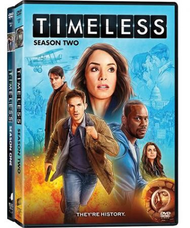 Timeless Season 1-2 DVD Pack