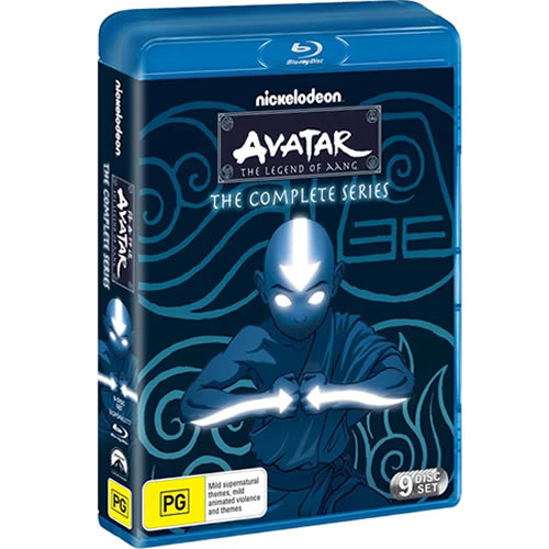 Avatar The Last Airbender The Complete Series Blu-ray Blu-ray