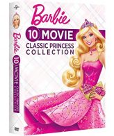 Barbie 10-Movie Classic Princess Collection DVD