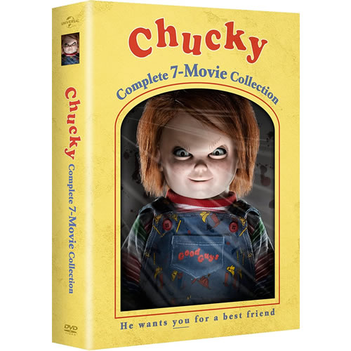 Chucky Complete 7-Movie Collection DVD for Sale