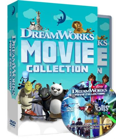 DreamWorks 24 Movie Collection DVD DVD