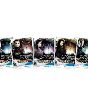 Stargate Atlantis Season 1-5 DVD Pack