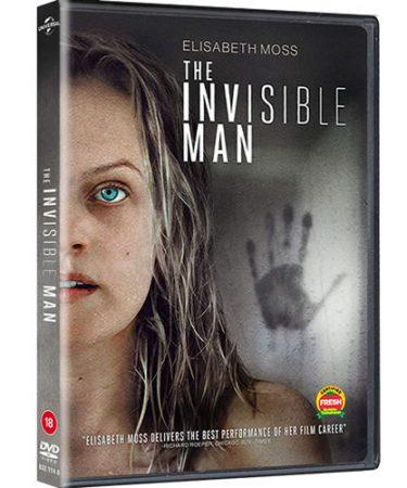 The Invisible Man(2020) DVD