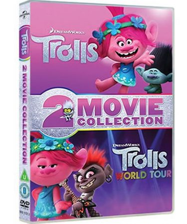 Trolls 2-Movie Collection DVD