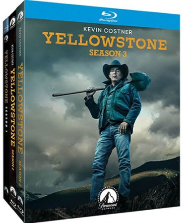 Yellowstone Complete Season 1-3 Blu-ray Region Free