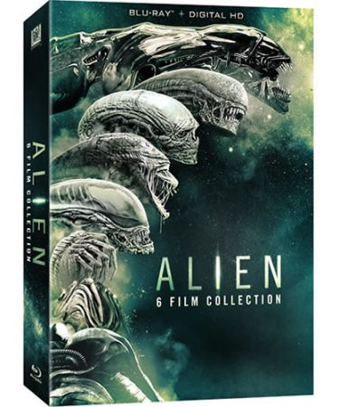 Alien 6-film Collection Blu-ray Region Free