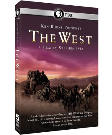 Ken Burns Presents - The West A Film by Stephen Ives DVD