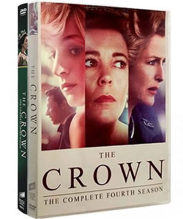 The Crown Season 3-4 DVD Pack for Sale