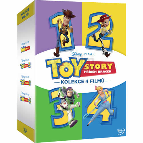 Toy Story Season 1-4 DVD Pack for Sale