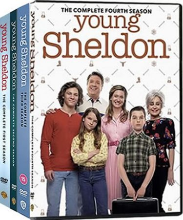 Young Sheldon Season 1-4 DVD Pack for Sale