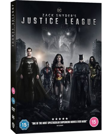 Zack Snyder's Justice League DVD