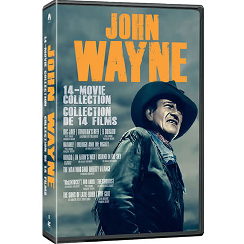 John Wayne Essential 14-Movie Collection DVD for Sale