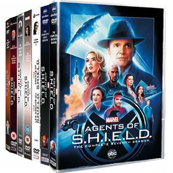 Agents of SHIELD Season 1-7 DVD Pack for Sale