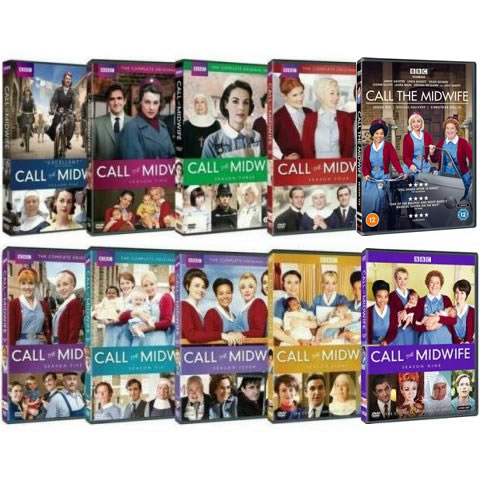 Call The Midwife Season 1-10 DVD Pack for Sale