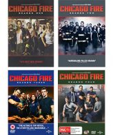 Chicago Fire Season 1-4 DVD Pack for Sale