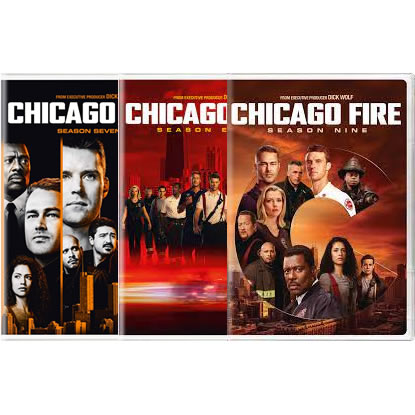 Chicago Fire Season 7-9 DVD Pack for Sale