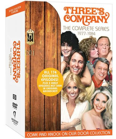 Three's Company DVD Box Set Complete Series for Sale