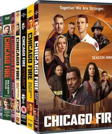 Chicago Fire Season 1-9 DVD Pack for Sale