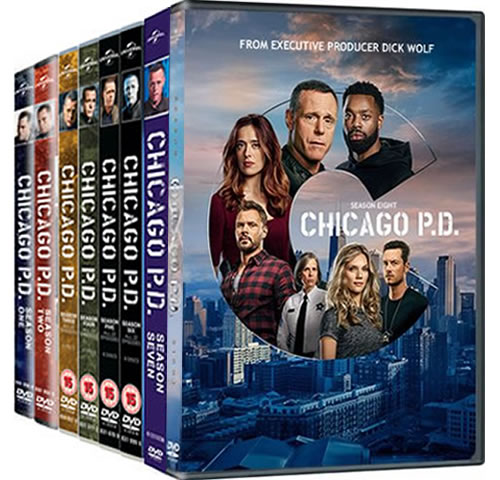 Chicago PD Season 1-8 DVD Pack for Sale