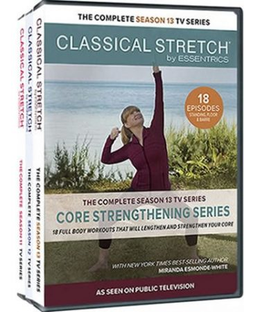 Classical Stretch by Essentrics Season 11-13 DVD Pack for Sale
